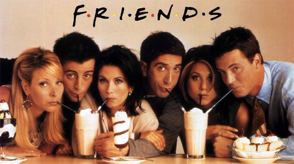 Friends 90s TV show gift guide