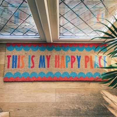 This is my Happy Place Long Doormat