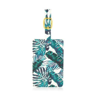 Coconut Lane Palm Luggage Tag