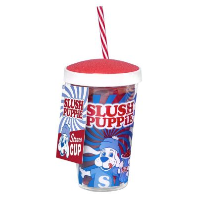 Slush Puppie Straw Mug