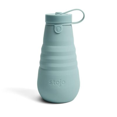 Stojo 20oz/560ml Aquamarine Collapsible Bottle