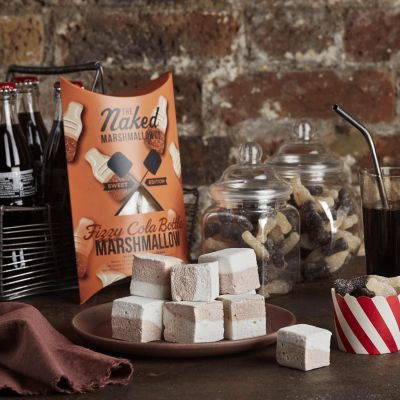 Naked Marshmallow Co Fizzy Cola Bottle Gourmet Marshmallows