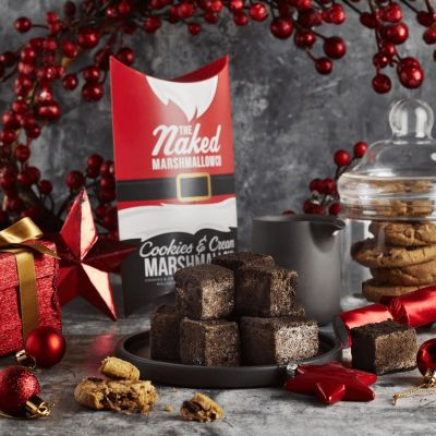 Naked Marshmallow Co Cookies & Cream Gourmet Marshmallows