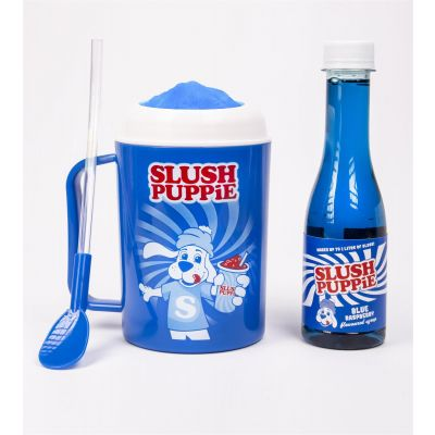 Slush Puppie Making Cup & Blue Raspberry Set