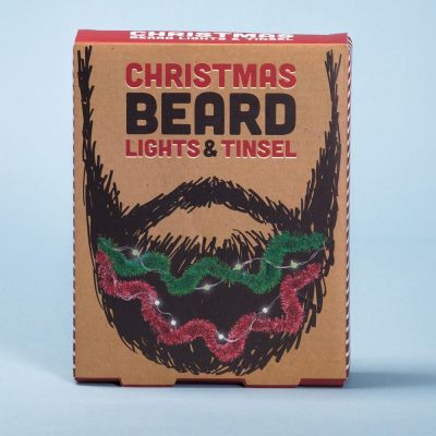 Beard Lights & Tinsel Set