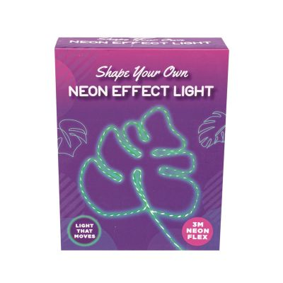 Make Your Own Neon Green Moving Light