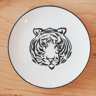 House of Vitamin Small Tiger Plate/ Trinket Dish