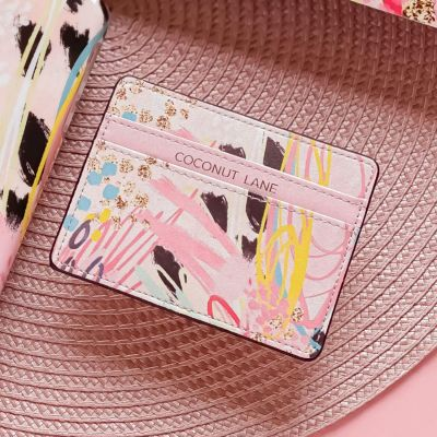 Coconut Lane Abstract Vibes Card Case