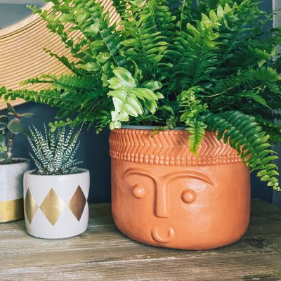 Planter Cabeza - Terracotta