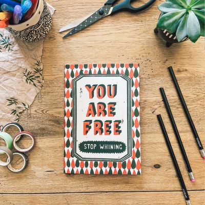 USTUDIO A5 Notebook - You Are Free