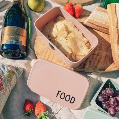 Food & Lunch Box - Nude