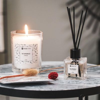 'Go Sparkle' Candle & Diffuser Gift Set