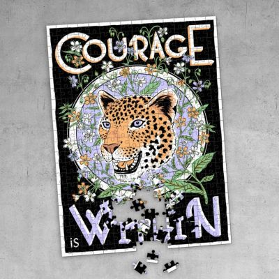 Print Club London – Courage Is Within Jigsaw