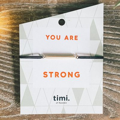 Timi Of Sweden You Are Strong Bracelet Gift Card