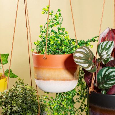 Mojave Brown Hanging Planter