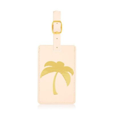 Coconut Lane Palm Tree Luggage Tag