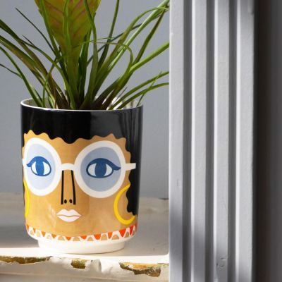 Kitsch Kitchen Gloria Jar/ Planter