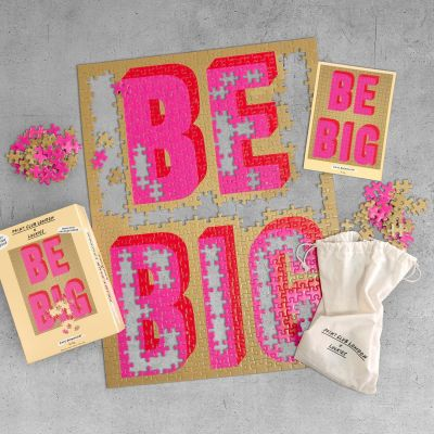 Luckies London x Print Club - Be Big Puzzle Jigsaw
