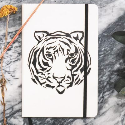 House of Vitamin Notebook A5 Tigerhead