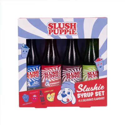 Slush Puppie Syrup Selection Pack x 4