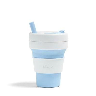 Stojo 16oz/475ml Sky Biggie Collapsible Cup