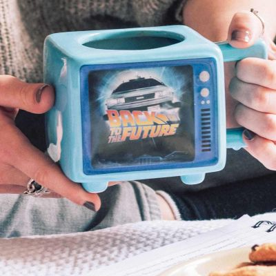 Back To The Future Flux Capacitor Heat Changing Mug