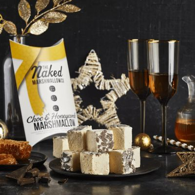 Naked Marshmallow Co Choc & Honeycomb Gourmet Marshmallows