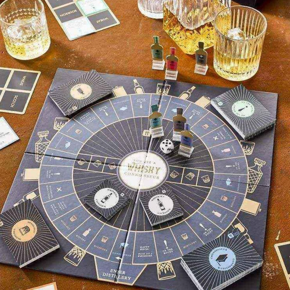 Talking Tables Whisky Board Game from Yes I Want It - best boozy gifts