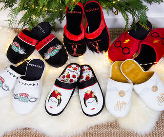 Slippers from £10!